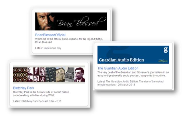 AudioBoo channels