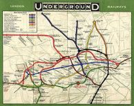 London Tube map 1908