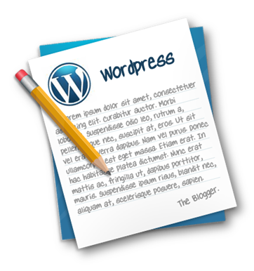 wordpress blogger icon