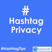 hashtag privacy
