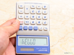 text trick on calculator