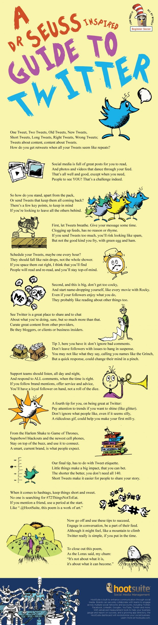Dr Seuss Guide to Twitter