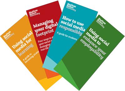 social media guidance leaflets