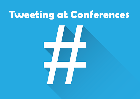 Tweeting at conferences