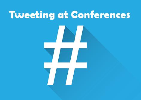 Tweeting at conferences
