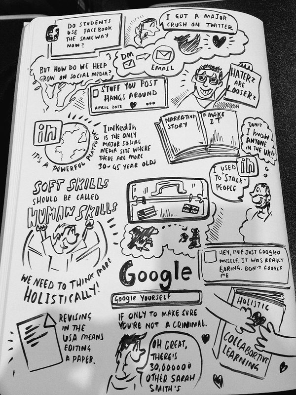 Eric Stoller sketch note 2